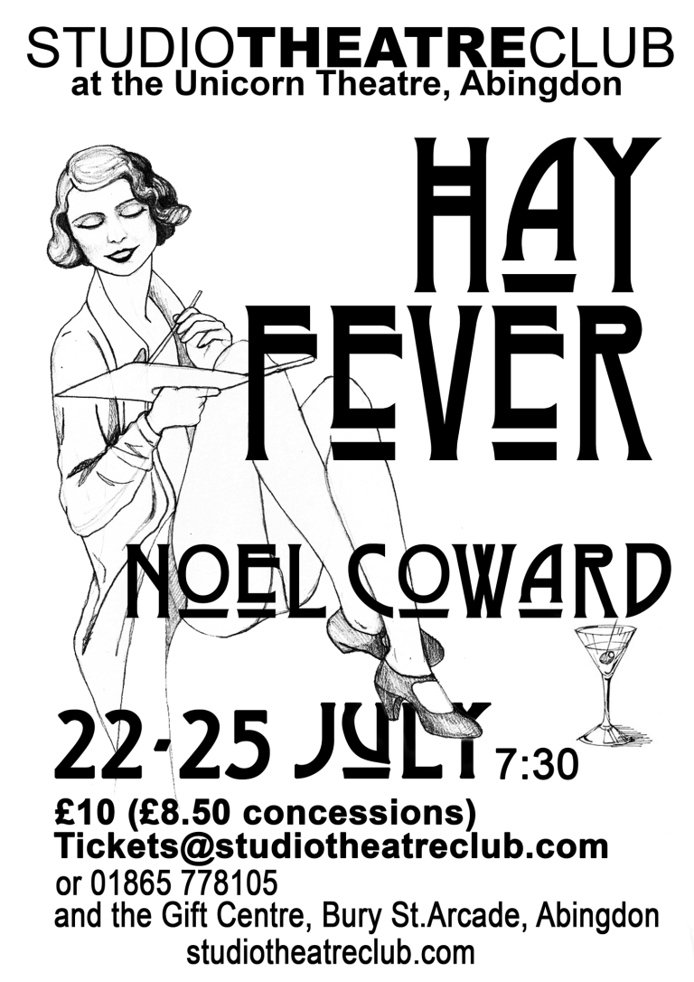 Hay Fever poster final