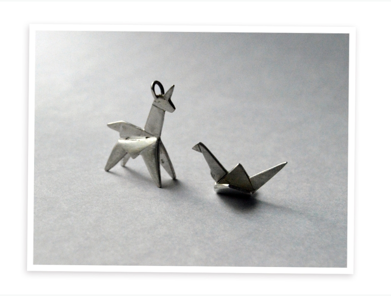origami pendants