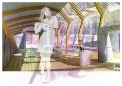 Interior II, Digital Print, 2013