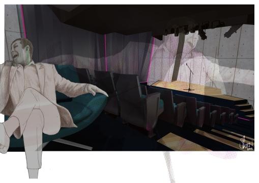 Interior III, Digital Print, 2013