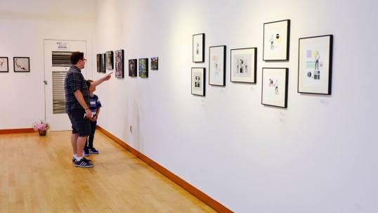 12th Night, Daejeon Gallery, Daejeon, South Korea, 2017 (Photo: Alla Ponomareva)