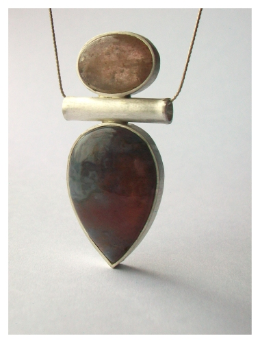 Mère, Silver and stone, 2014