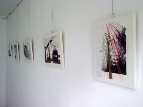 Deborah Fallon & Suné Horn Exhibition, Gallery D.A.C, Daejeon, South Korea, 2015