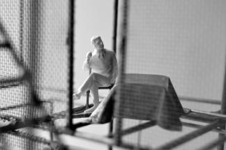 Bound by Fiction: Scene III, Digital Print, 2016