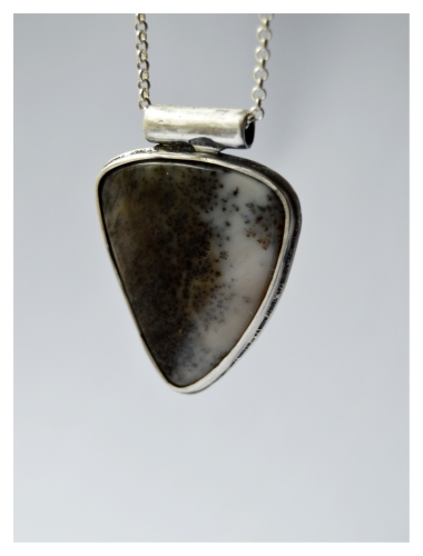 Fossil, Silver and agate, 2015
