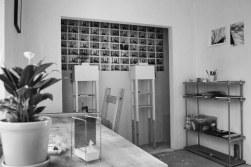 My studio at the Art Space Jang 아트 스페이스 장 Residency, Daejeon, South Korea