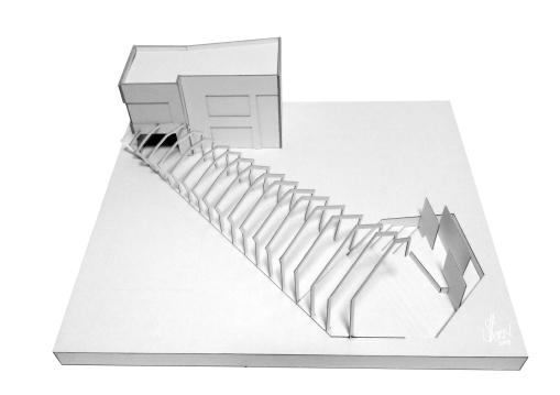 Building Model, Cardboard, 2013
