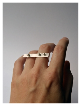 Dainty Knuckle Buster, Silver, 2015