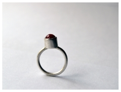 Cherry Bomb, Silver with bead, 2015