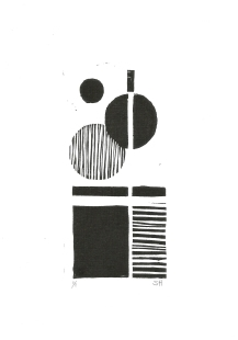 Pattern Exploration I, Ink on paper, 2017