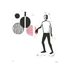 Pattern Exploration VI, Ink on paper, 2017