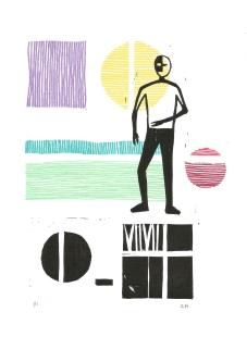 Pattern Exploration V, Ink on paper, 2017
