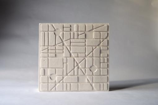 Urban Pattern 1, Plaster, 2019